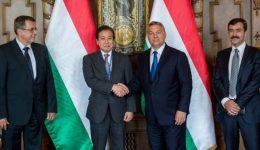 Orbán a Magyar Suzuki új vezérigazgatójával tárgyalt