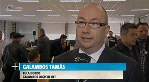 Galambos Logistic: újabb ötezer négyzetméter